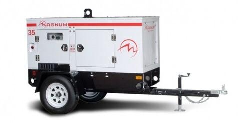 35kw towable generator