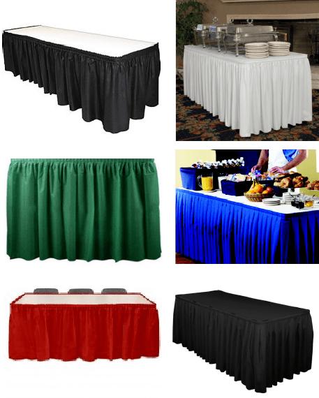 Linen Skirt tablecloth