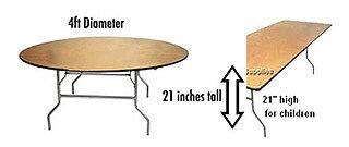children-tables