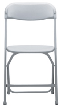 Chair Samsonite plastic with metal framing Folding