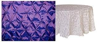 purple-white-cloth
