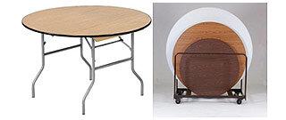 Round-Folding-Table
