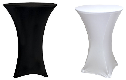 Spandex Fitted Stretch Cocktail table cover