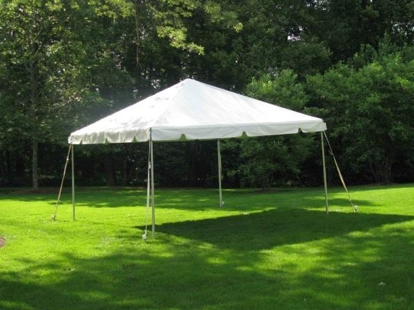 10×10 Event Tent on grass.