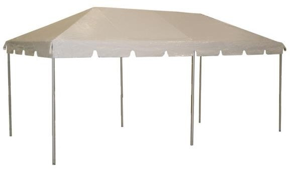 Event Tent 10'X20' on White Background
